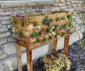 Great DIY Spring Flower Wreaths and Flower Boxes for Your Windows