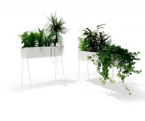 Green Pedestals: A Sustainable Vegetation