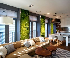 Green walls and grand designs in Ukraine