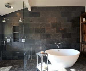 Grey Tiled Bathrooms for the Contemporary Home