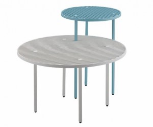 Grid: Linear Aluminum Tables