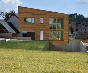 Groharjevo House by 3biro arhitekti