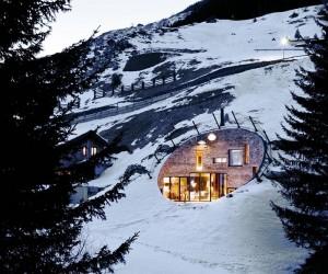 Ground breaking ideas Underground mountain house, Switzerland