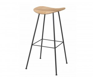 Gubi 2D Stool Center Base by Komplot Design for Gubi
