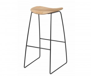 Gubi 2D Stool Sled Base by Komplot Design for Gubi