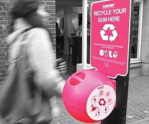 Gumdrop Bin: Turn Gum Into Plastic