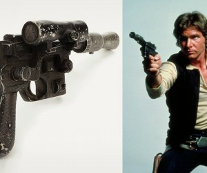Han Solos Blaster From Star Wars Up For Bid