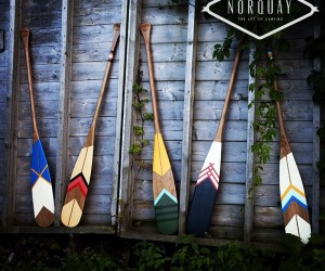 Hand Painted Artisan Canoe Paddles