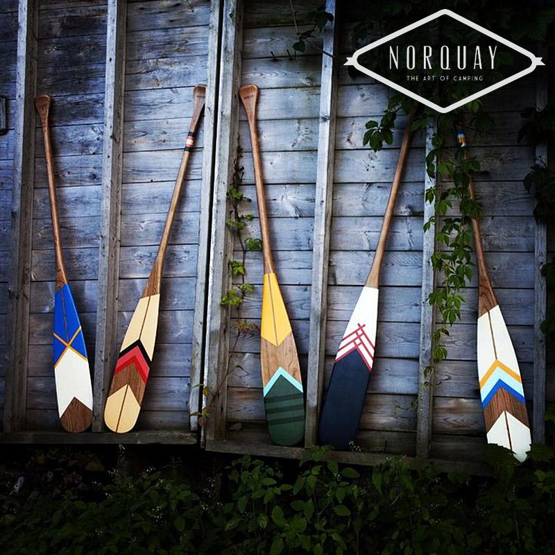 Hand Painted Artisan Canoe Paddles