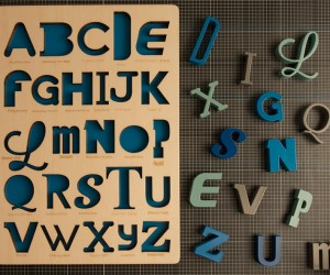 Handmade Font Puzzles for Type Lovers
