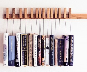Hanging Book Shelving: Display Your Collections