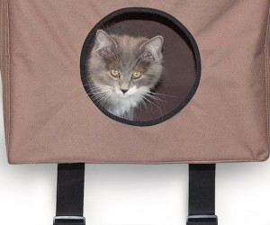 Hanging Cat House by KH Manufacturing
