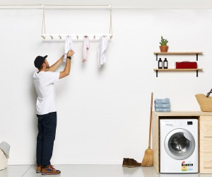 Hanging-Drying-Rack designed by Design Studio George  Willy