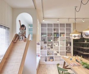 HAO design puts a playground within an apartment in Taiwan