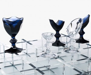 Harcourt Chessboard by Nendo for Baccarat