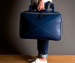 Hard Graft Carry-On Leather Suitcase