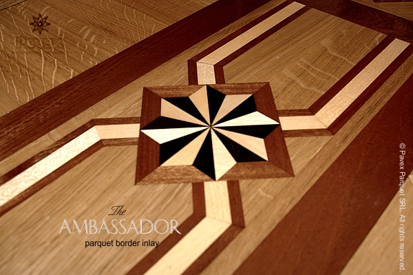 Hardwood Floor Borders The Ambassador Pattern