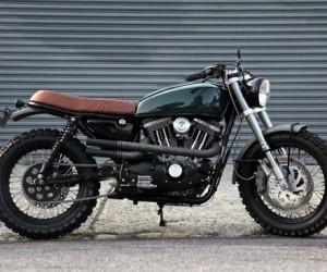 Harley-Davidson Scrambler by VDB Moto