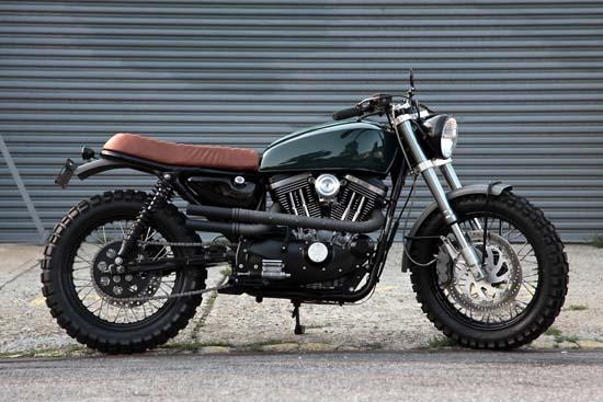 Harley Davidson Scrambler By Vdb Moto
