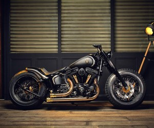 Harley Softail Slim Crowned Stallion By Rough Crafts