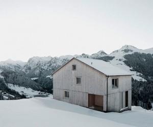 Haus Fontanella by Bernardo Bader Architects