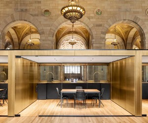 Henri Cleinge designs Crew Collective offices
