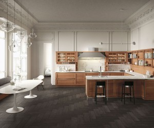 Heritage: Traditional and Modern Elements Fused Beauty of Wood