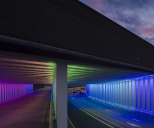 Herman Huijer Lights On Two Tunnels in Zutphen