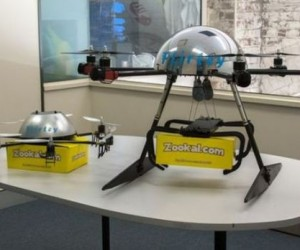 Hexacopter DroneTo Deliver Text Books