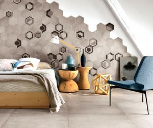Hexagonal Wall Tiles by Ragno
