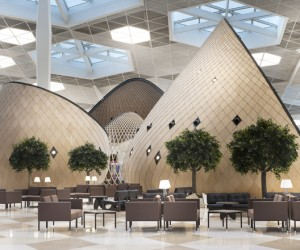 Heydar Aliyev New International Airport terminal, Baku