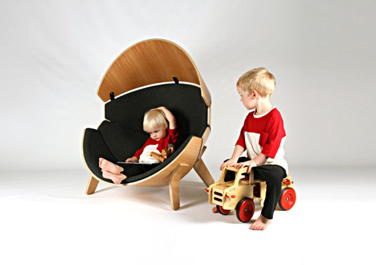 Superbe Hideaway Chair: A Safe Haven For Kids