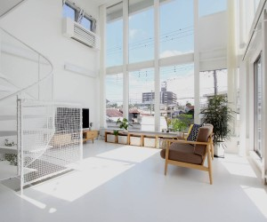 Higashinaga Townhouse by Environmental  Architectural Design Office