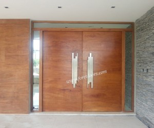 High-end modern front entry doors