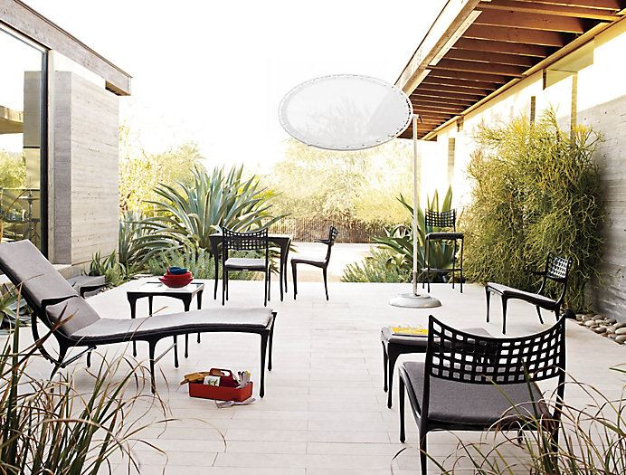 High end patio furniture options for spring for Outdoor furniture high end