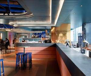 Hightail Bar in Melbournes Docklands by Techn