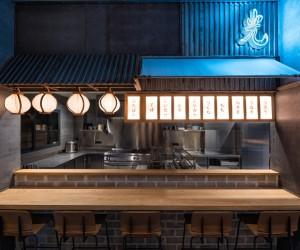 Hikari Yakitori Bar in Valencia by Masquespacio