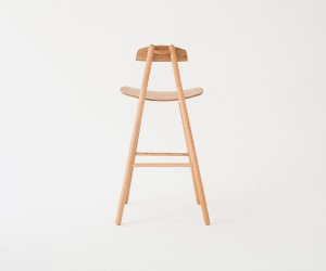 Hiro Barstool by De JONG  Co