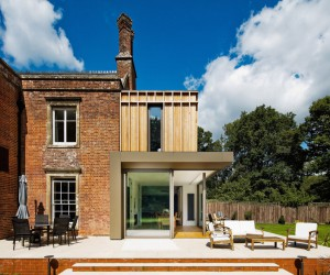Historic Family Home Complimented with Contemporary Extension in Hampshire