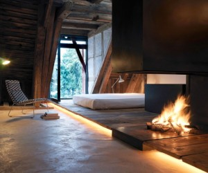 Simple & Rustic House in the Alps