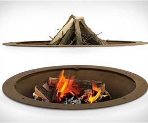 Hole Fire Pit, by AK47 Design