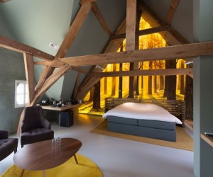 Holiday in style at this chic hotel in Belgium