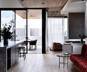 Holly Penthouse in Melbourne Combines Luxury with a Welcoming Atmosphere