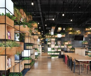 Home Caf in Beijing by Penda