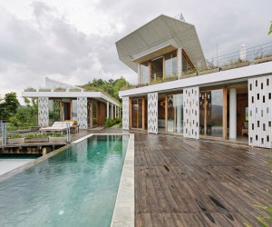 Home designed by Budi Pradono Architects BPA on the Island of Lombok in Indonesia