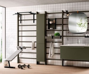 Home Gym  Bathroom by Scavolini