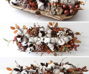 Homemade Thanksgiving Centrepiece Ideas