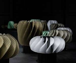 Horah Kinetic Light Installation by Raw Edges