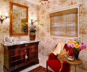 Hot Summer Trend: 25 Dashing Powder Rooms with Tropical Flair
