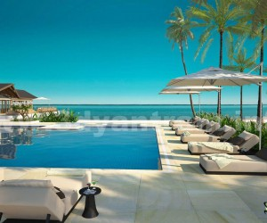 Hotel Pool View Design Ideas by Architectural Visualization Company